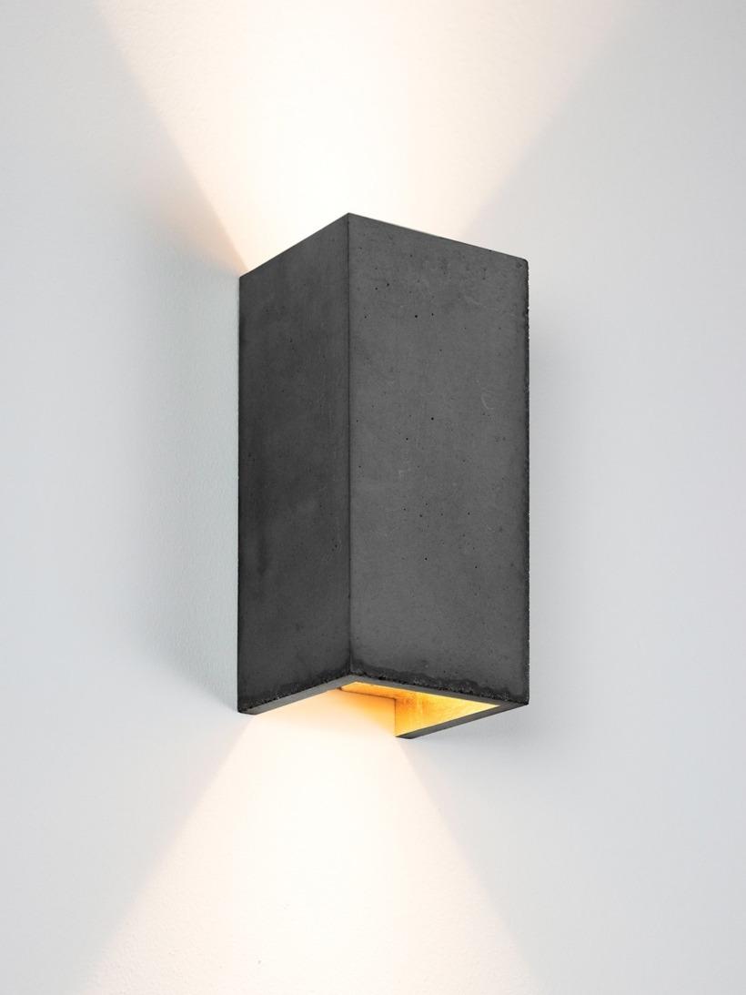 [B8]dark Wandlampe rechteckig